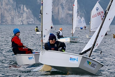 Kinder + Sport  al 37° Meeting del Garda Optimist