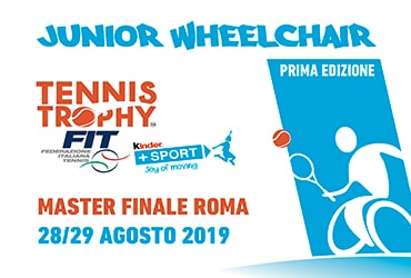 JUNIOR WHEELCHAIR TENNIS TROPHY FIT KINDER+SPORT 2019