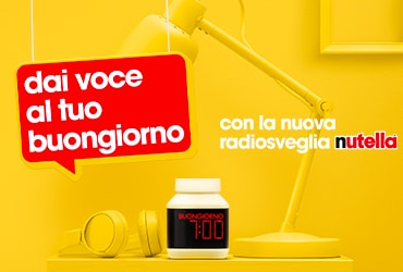 Concorso Nutella® Radiosveglia