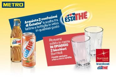 Bicchieri Estathé per la tua attività - METRO