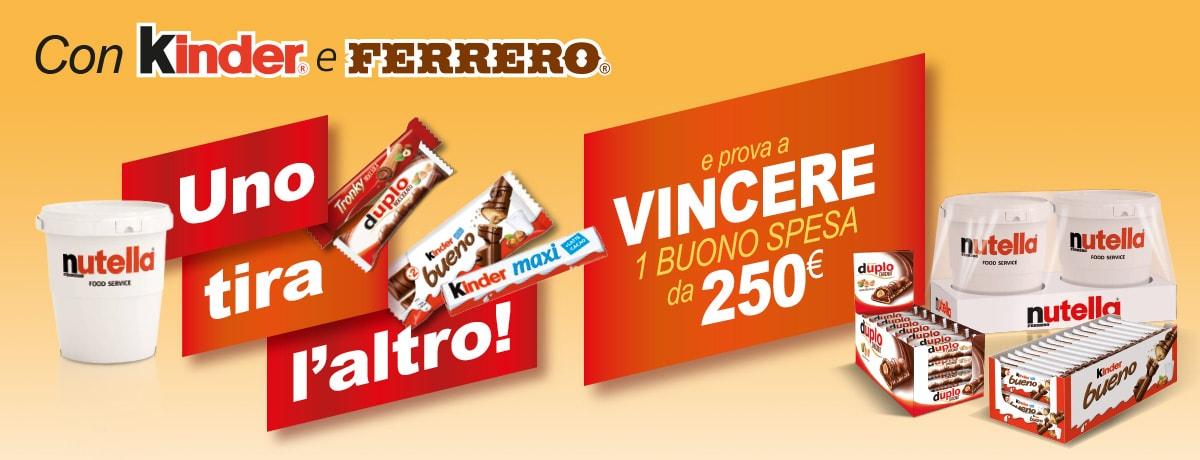 Con Metro e Ferrero vinci un buono spesa da 250 euro