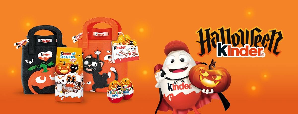 Halloween Kinder, preparati a far festa!