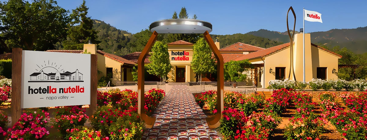 Hotella Nutella: A First-Of-Its-Kind Weekend Getaway Breakfast Experience Unveiled...