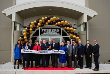 Ferrero Officially Opens New Distribution Center In Jonestown, Pennsylvania