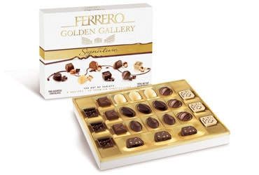 Ferrero Launches Golden Gallery Signature In The U.S. Delivering Chocolate ...