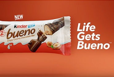 KINDER BUENO CHOCOLATE BAR WILL MAKE U.S. TELEVISION DEBUT DURING THE 92nd OSCARS®