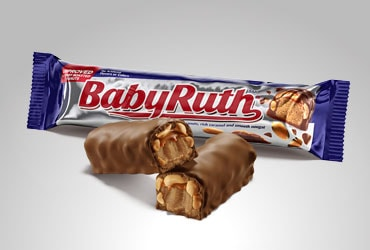 Baby Ruth® was recognized at the 2020 Product of the Year awards show for product innovation in the Candy Bar Category.