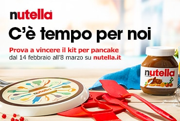 NUTELLA KIT PANCAKE 2020