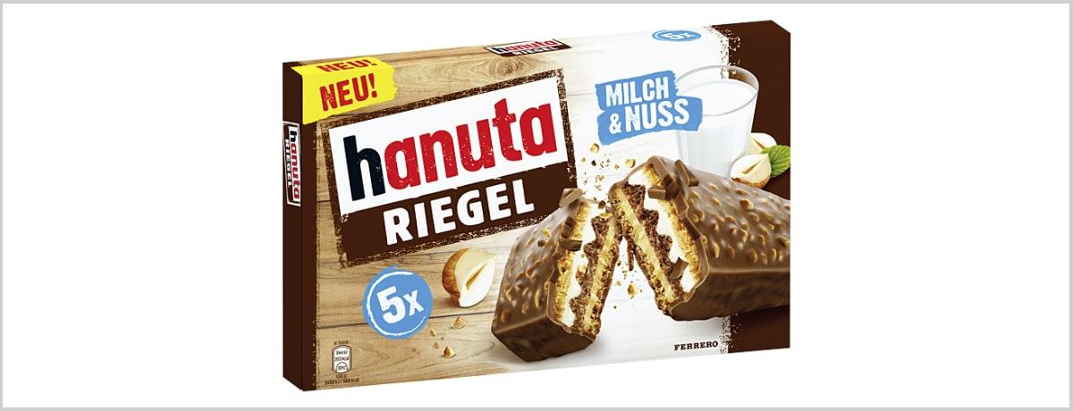 Jetzt neu: hanuta Riegel von Ferrero