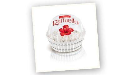 1996<br />Raffaello llega a España.