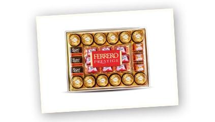 2007<br />Nace Ferrero Prestige, un surtido de bombones de la marca.