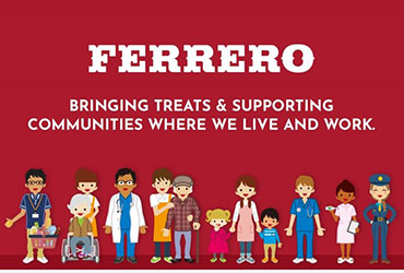 Bringing Treats & Supporting Communities Where We Live and Work