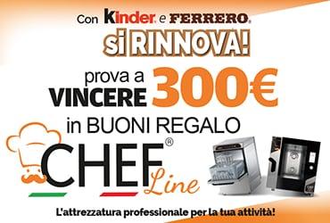 CONCORSO RINNOVA L'ATTIVITA' CON KINDER E FERRERO