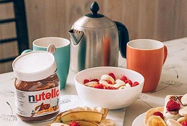 Хороший день начинается с улыбки в Nutella® Morning Club