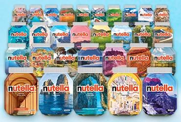 """Nutella celebra la bellezza del nostro paese con la special edition """"Ti Amo Italia"""""""