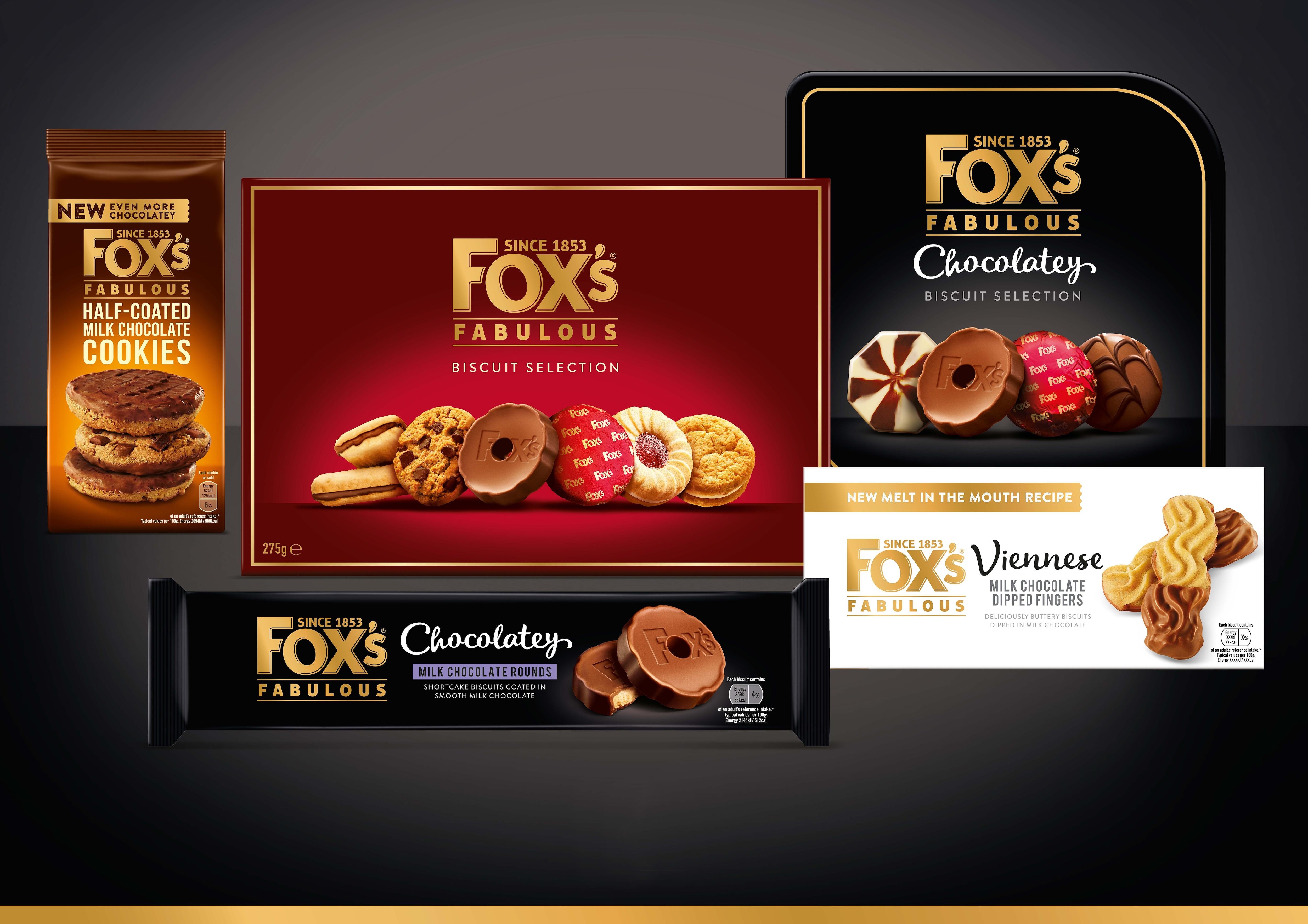 Een aan Ferrero verbonden vennootschap kondigt de overname aan van de  koekjesactiviteiten van het merk Fox's
