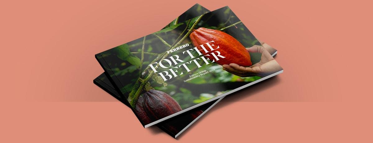 Ferrero publiziert 11. Nachhaltigkeitsbericht - neue Klimaziele für 2030 benannt