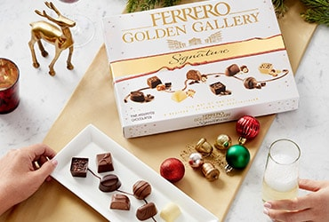 FERRERO GOLDEN GALLERY SIGNATURE INVITES CHOCOLATE LOVERS TO DISCOVER THE ART OF CHOCOLATE THIS SEASON