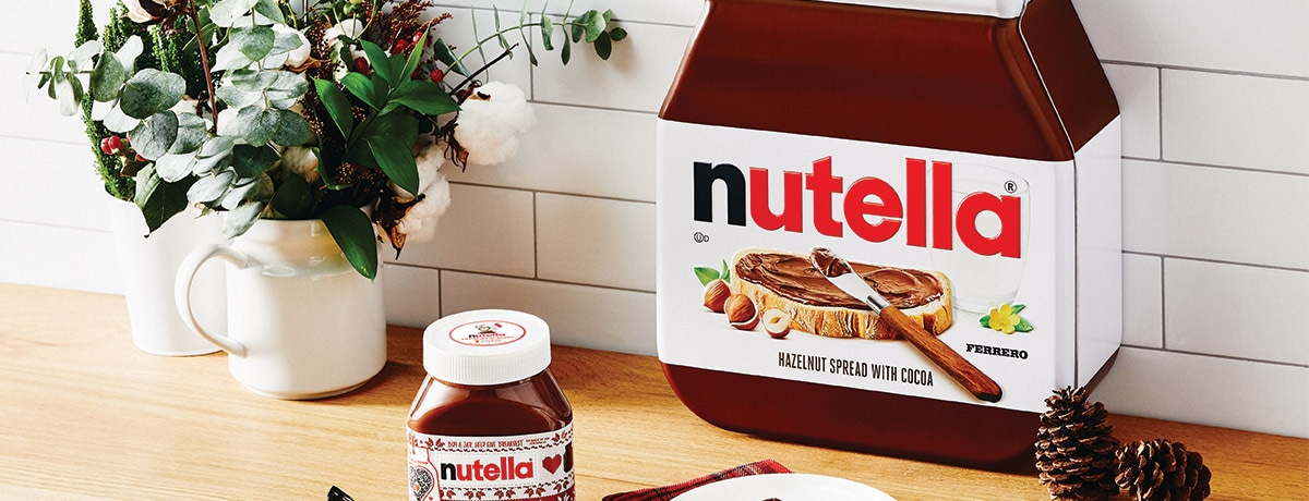 NUTELLA RELEASES LIMITED-EDITION DIY HOLIDAY BREAKFAST KIT TO INSPIRE NEW FAMILY TRADITIONS...