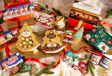 CELEBRATE THE SEASON WITH NEW HOLIDAY ITEMS FROM FERRERO