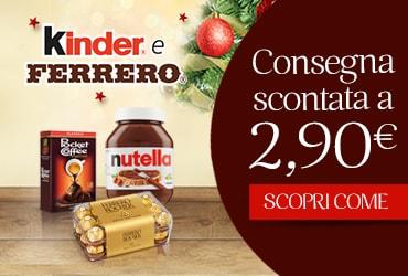 FERRERO TI OFFRE LA CONSEGNA SCONTATA