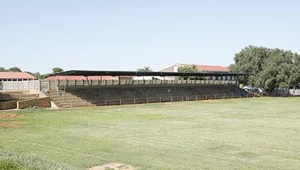 Sports ground of the De Deur School (in Walkerville) during the Ferrero renovation