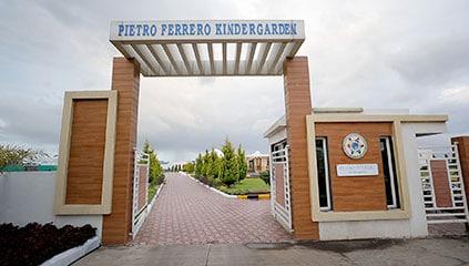 Entrance of the Pietro Ferrero Kindergarden