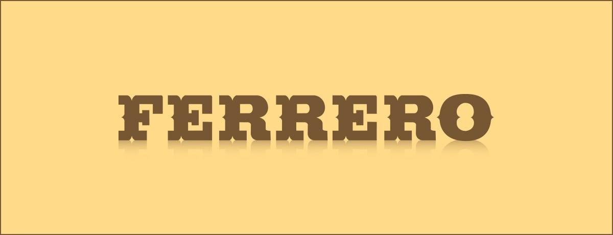 NEUESTE UPDATES DES VERPACKUNGS-COMMITMENTS DER FERRERO-GRUPPE BIS 2025
