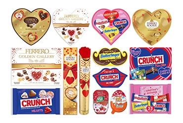 BRING SPECIAL JOY TO VALENTINE'S DAY WITH LIMITED-EDITION TREATS FROM FERRERO