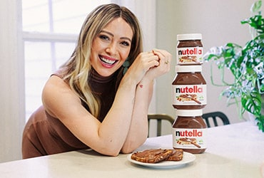 Create Hilary Duff's Favorite Nutella® Recipe with Her Virtually for World Nutella Day, February 5th