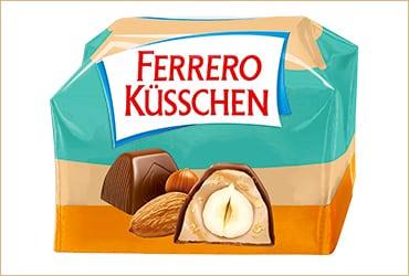 Von Fans für Fans und nur für kurze Zeit: Ferrero Küsschen Mandel