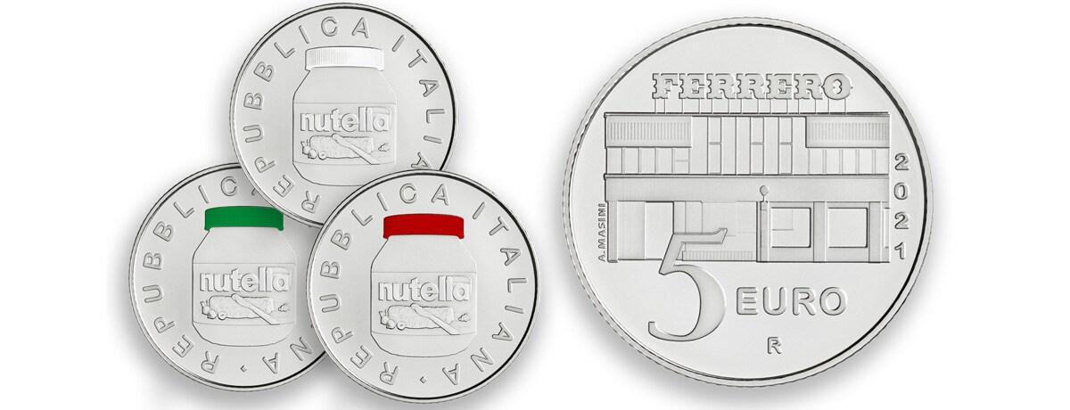 World nutella day: oggi è stata emessa la moneta dedicata a nutella®