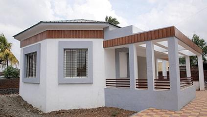 Completed Anganwadi in Gunawadi