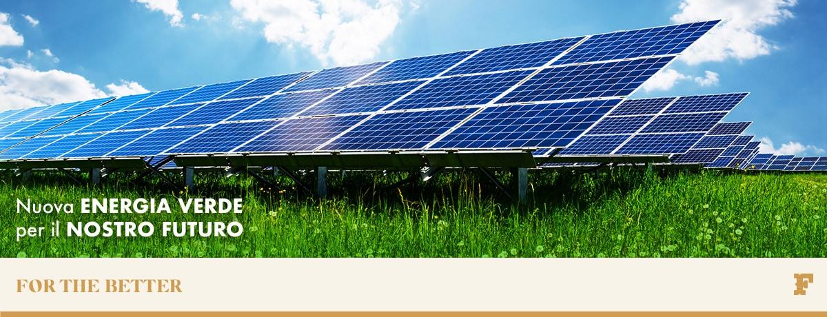 Nuova energia verde per il nostro futuro