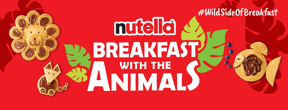 NUTELLA® CURATES SPECIAL BREAKFAST EXPERIENCES FOR FAMILIES AT SELECT LOCAL ZOOS NATIONWIDE
