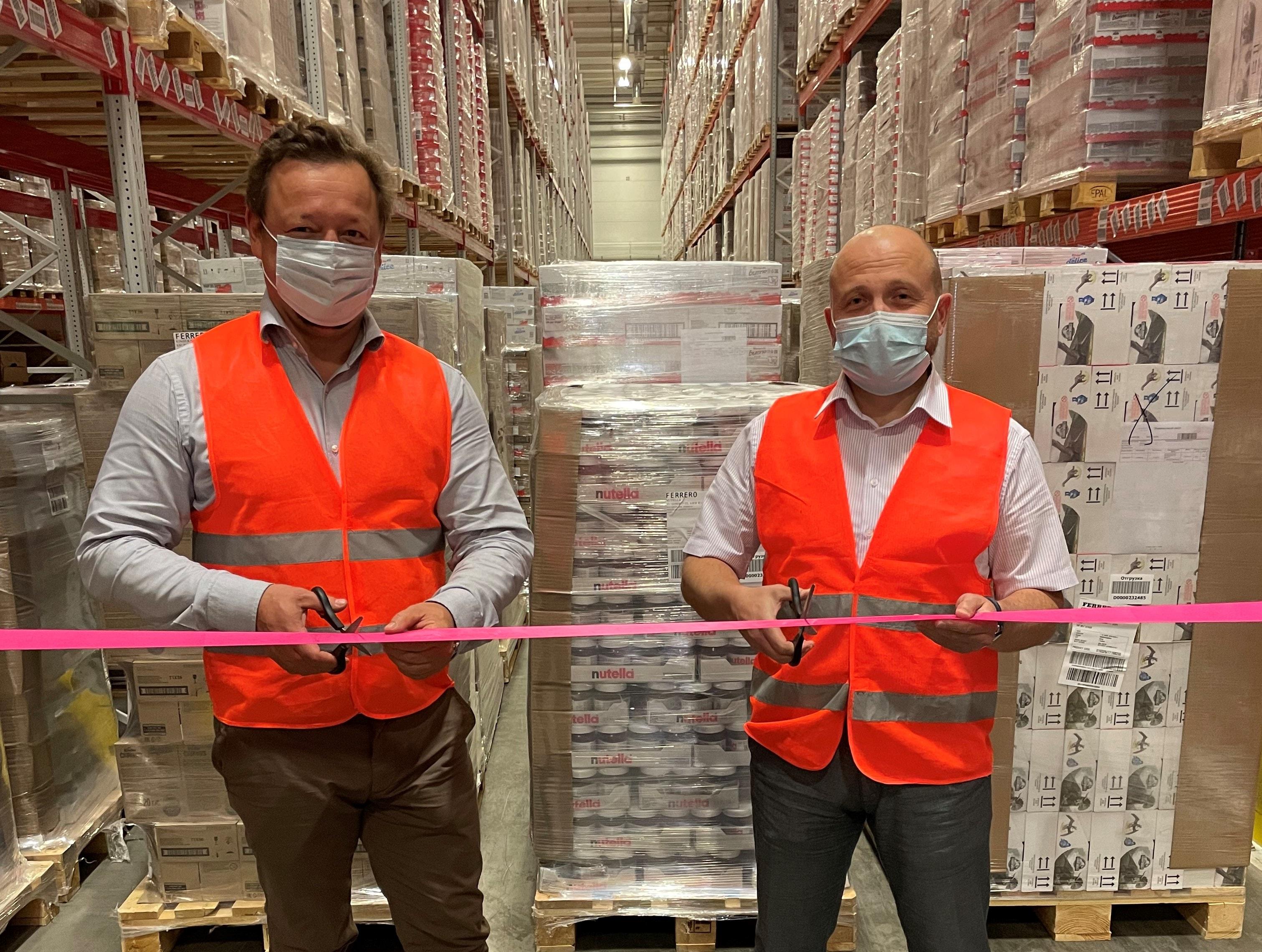 Открытие склада Ferrero в столице Казахстана