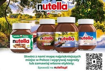 Nutella Kocha Polskę