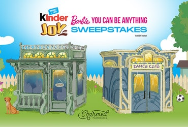 """Kinder Joy® Launches Barbie® """"You Can Be Anything™"""" Toy Line and Gives Families a Chance to Win a Custom Playhouse"""
