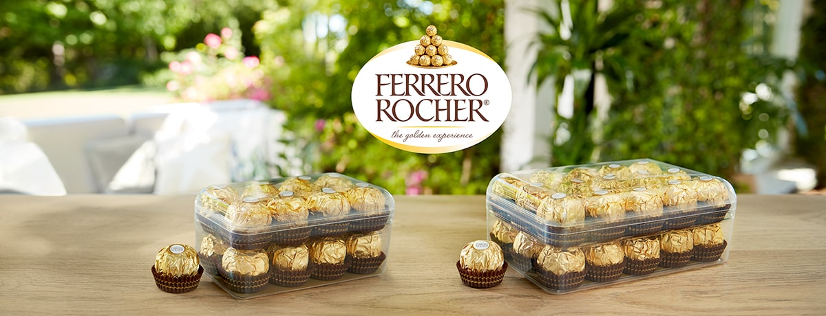 The Ferrero Group introduces new recyclable box for its iconic Ferrero Rocher range