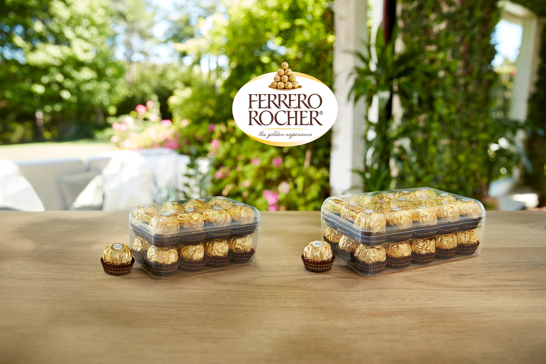 De Ferrero Groep introduceert een nieuwe en recyclebare box voor hun iconische Ferrero Rocher