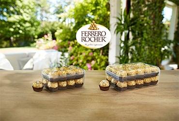 Ferrero, una nuova confezione riciclabile nella gamma Ferrero Rocher