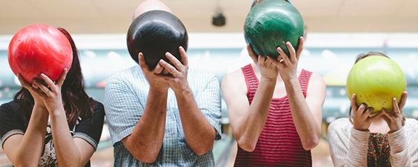 Una partita a bowling